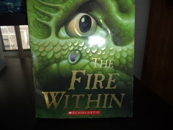THE FIRE WITHIN   ISBN 13-9768-0-439-67244--9