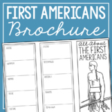 THE FIRST AMERICANS Research Brochure Template, American H