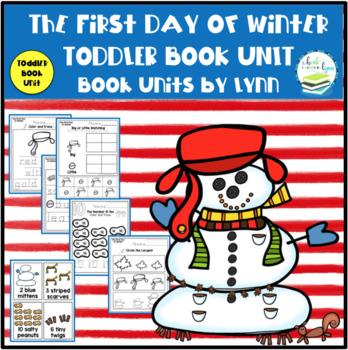 THE FIRST DAY OF WINTER TODDLER BOOK UNIT