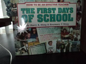 THE FIRST DAYS OF SCHOOL ISBN 0-9629360-2-2