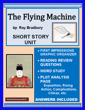 THE FLYING MACHINE by Ray Bradbury - Short Story Complete Unit
