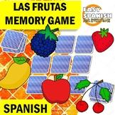 SPANISH: LAS FRUTAS (Memory Game)