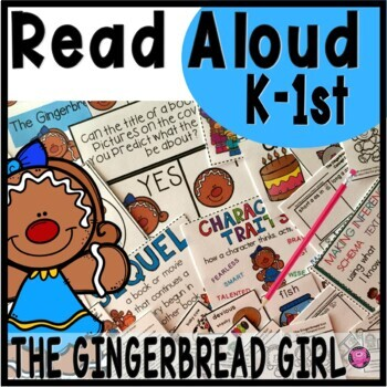 The Gingerbread Girl Close Reading Unit and Activities