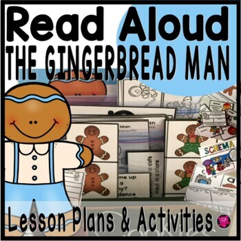 The Gingerbread Man Read Aloud Book Activities by ...