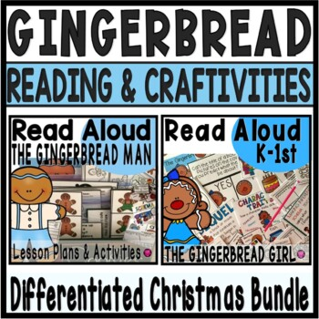 Gingerbread Interactive Read Aloud Activities and Lesson Plans