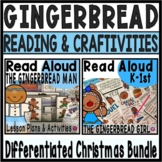 Gingerbread Read Aloud Activities and Lesson Plans Bundle