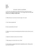 THE GIVER CHAPTER 12 GUIDED READING QUESTIONS