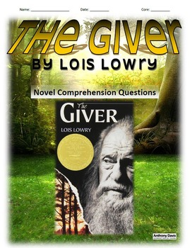 THE GIVER COMPLETE NOVEL UNIT
