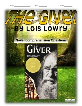 THE GIVER - Chapter Questions and Vocabulary (21 PAGES)