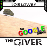 THE GIVER Unit Plan Novel Study - Literature Guide (Digita
