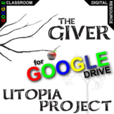 THE GIVER Utopia Project & Travel Brochure Activity (Created for Digital)