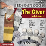 THE GIVER by Lois Lowry: Studying Characters—Nine Big Galoots Novel Study