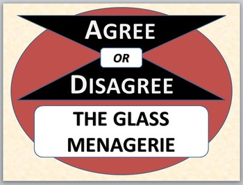 THE GLASS MENAGERIE - Agree or Disagree Pre-reading Activity