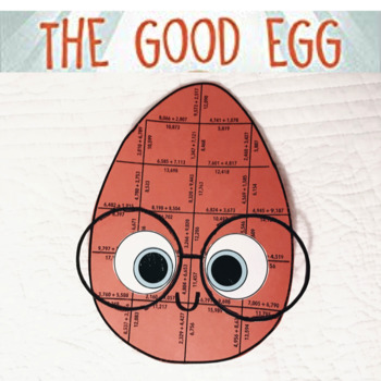THE GOOD EGG ACTIVITIES - FIFTH GRADE MATH PUZZLES
