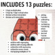 THE GOOD EGG ACTIVITIES - FOURTH GRADE MATH PUZZLES