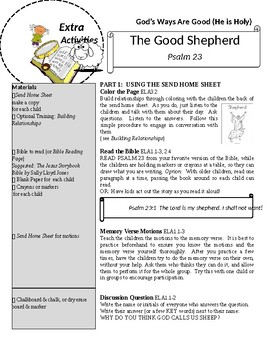 THE GOOD SHEPHERD LESSON PSALM 23 PRESCHOOL JUMP IN THE BIBLE SERIES ON YOUTUBE