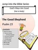 THE GOOD SHEPHERD LESSON PSALM 23 PRESCHOOL JUMP IN THE BI