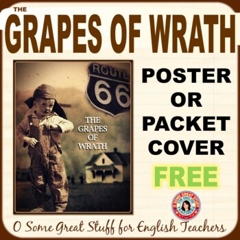 THE GRAPES OF WRATH Free Poster or Packet Cover