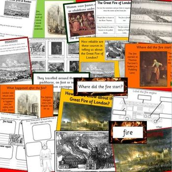 THE GREAT FIRE OF LONDON thematic unit