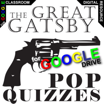 THE GREAT GATSBY 9 Pop Quizzes (Created for Digital)