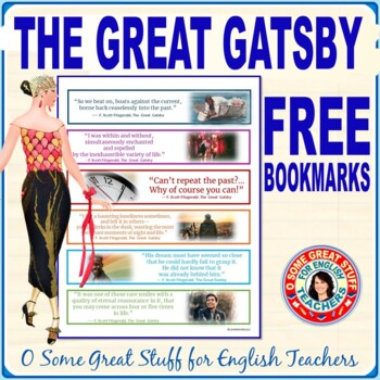 THE GREAT GATSBY FREE BOOKMARKS