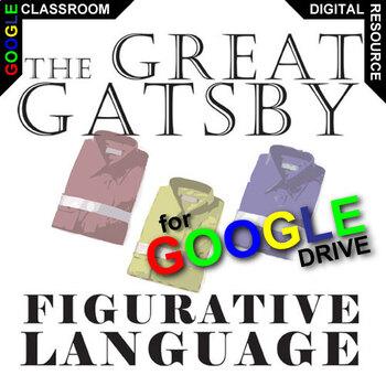 THE GREAT GATSBY Palacio R.J. Novel Figurative Language (C
