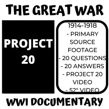 THE GREAT WAR - 1956 WORLD WAR 1 DOCUMENTARY FILM -  PROJECT 20