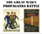 THE GREAT WAR'S PROPAGANDA BATTLE