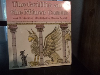 THE GRIFFIN AND THE MINOR CANON    ISBN 0-06-443126 6