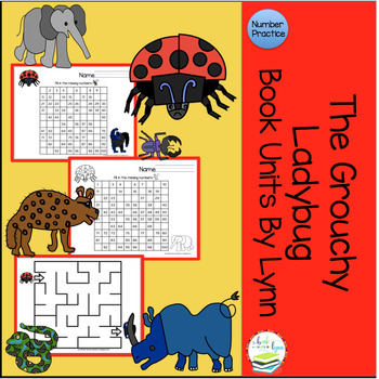 THE GROUCHY LADYBUG   NUMBER BOOK UNIT ADD-ON