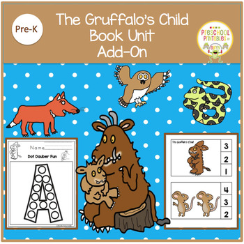THE GRUFFALO'S CHILD BOOK UNIT ADD ON