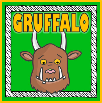 THE GRUFFALO STORY RESOURCES READING EYFS KS 1-2 EARLY YEARS ENGLISH