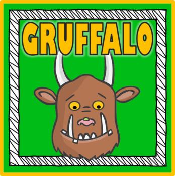 THE GRUFFALO STORY RESOURCES READING EYFS KS 1-2 EARLY YEA