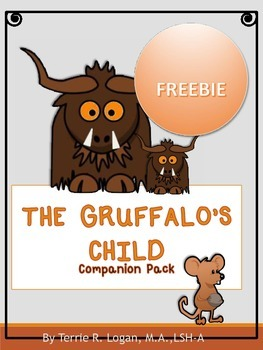 THE GRUFFALO'S CHILD FREEBIE!