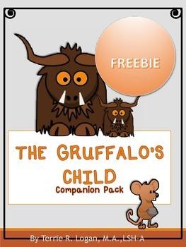 THE GRUFFALO'S CHILD FREEBIE!