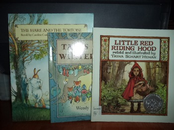 THE HARE INTERS EVE RED RIDING     (SET OF 3)