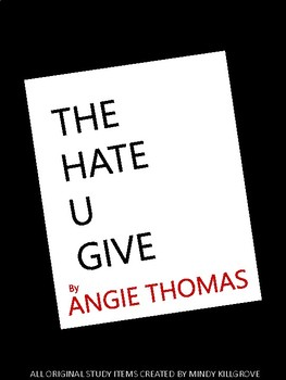 chapter seven study guide the hate u give