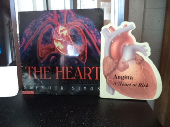 THE HEART  ANGINA A HEART AT RISK   ( SET OF 2)