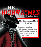 THE HIGHWAYMAN Scavenger Hunt