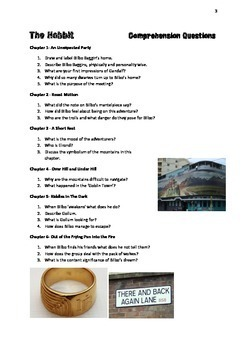 THE HOBBIT: Comprehension Questions and Answers