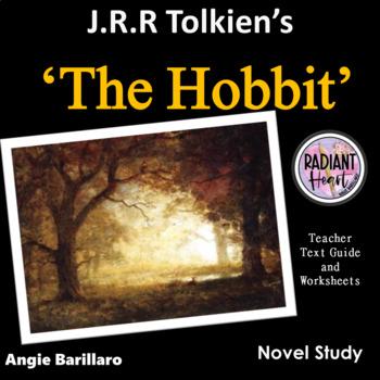 THE HOBBIT novel by Tolkien Teacher Text Guide & Worksheets