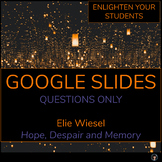 THE HOLOCAUST ACTIVITIES GOOGLE SLIDES | THE HOLOCAUST DISTANCE LEARNING