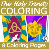 THE HOLY TRINITY Coloring Pages