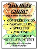 THE HOPE CHEST Comprehension/Assessment 410 Page CCSS Nove