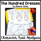 THE HUNDRED DRESSES Upper Elementary Critical Thinking Cha