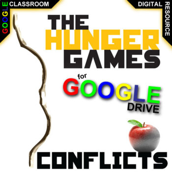 THE HUNGER GAMES Conflict Graphic Organizer (Created for Digital)