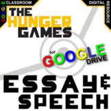 THE HUNGER GAMES Essay Prompts and Speech w Rubrics (Created for Digital)