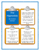THE HYPNOTISTS Gordon Korman - Discussion Cards