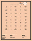 THE IDES OF MARCH WORD SEARCH