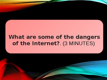 THE INTERNET CHALLENGE - Interactive Questions